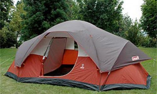 Coleman 8 Person Red Canyon Tent & The Best Cold Weather Tents For Family Camping | Outdoor Intensity