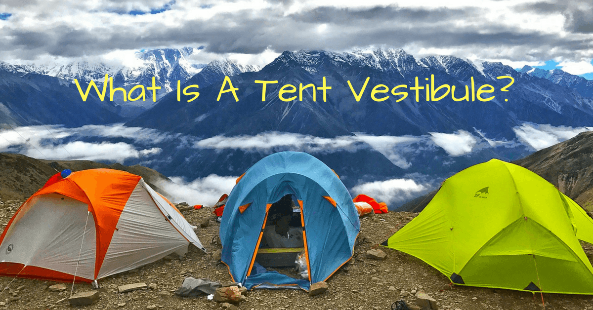 A Tent vestibule is a sheltered area that is just before the actual entrance of the tent or along the tents sides that can serve as a mudroom ... & What Is A Tent Vestibule? | Outdoor Intensity